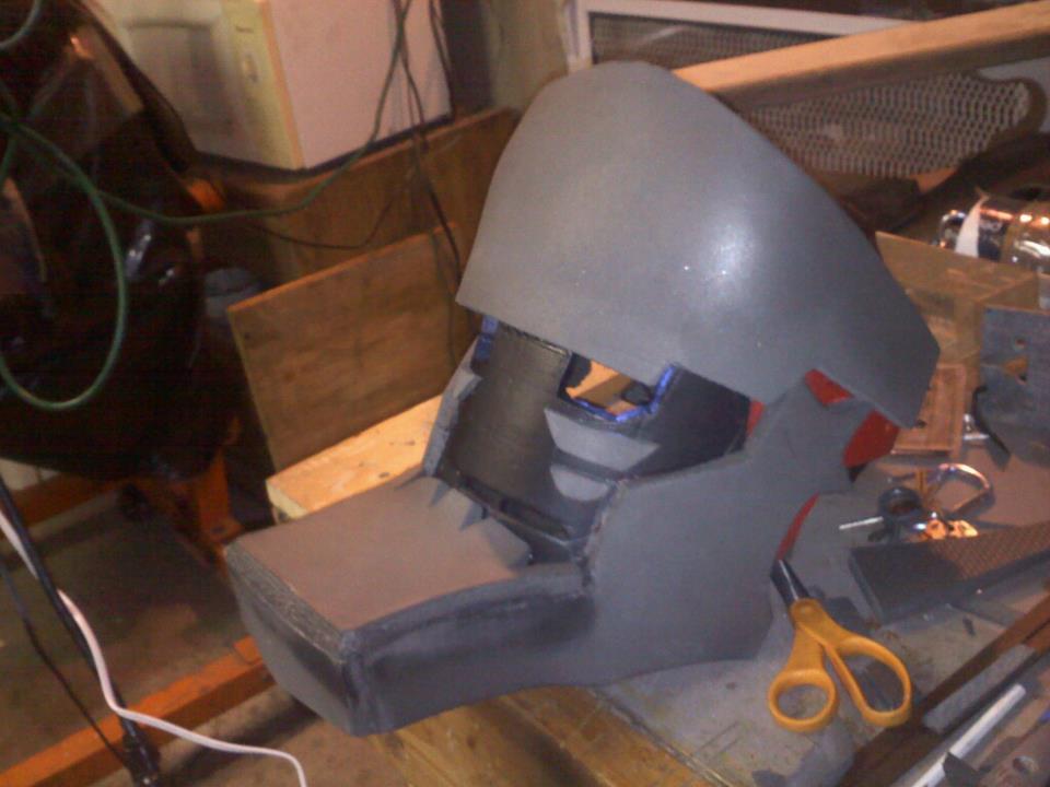 Iron Man Helmet Drawing Iron Man Helmet Side View