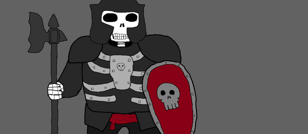 Lego Castle Fantasy Era Skeleton Knight Ms Paint By Dennistheimp