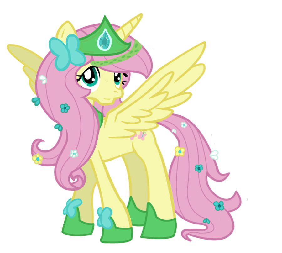 Princess fluttershy by schnuffitrunks