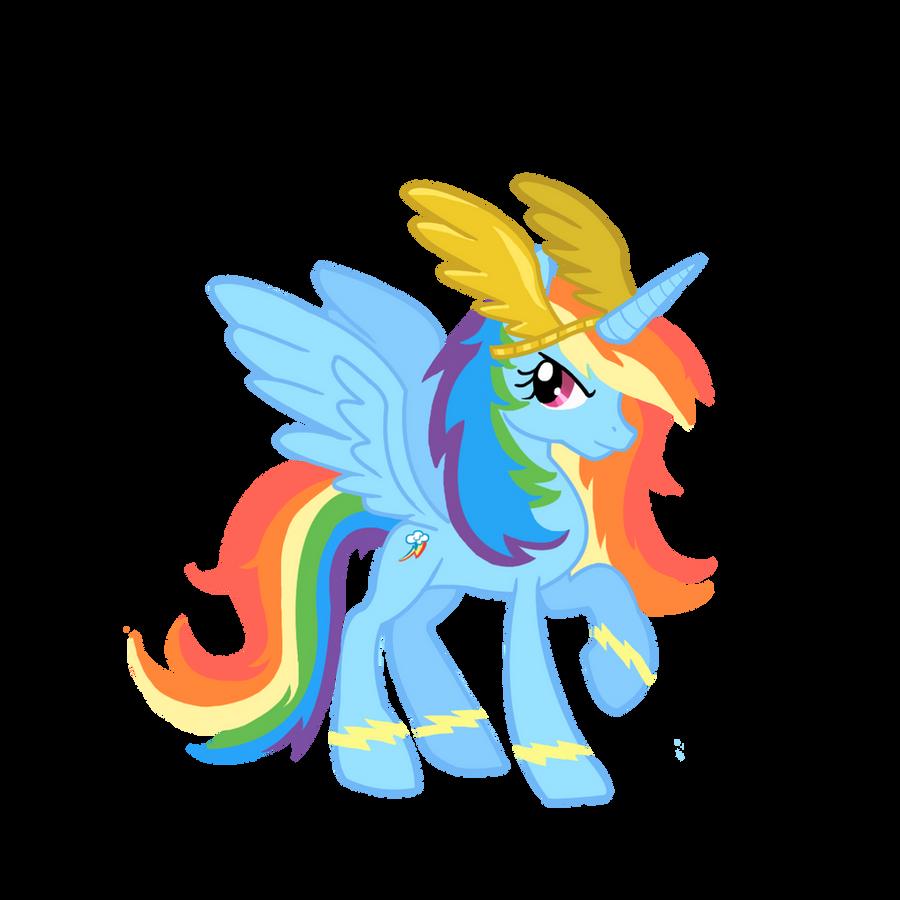 My Little Pony Alicorn Rainbow Dash