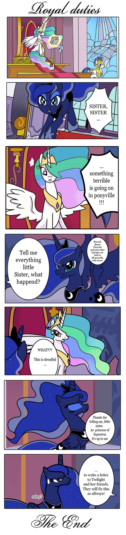 Royal duties by schnuffitrunks