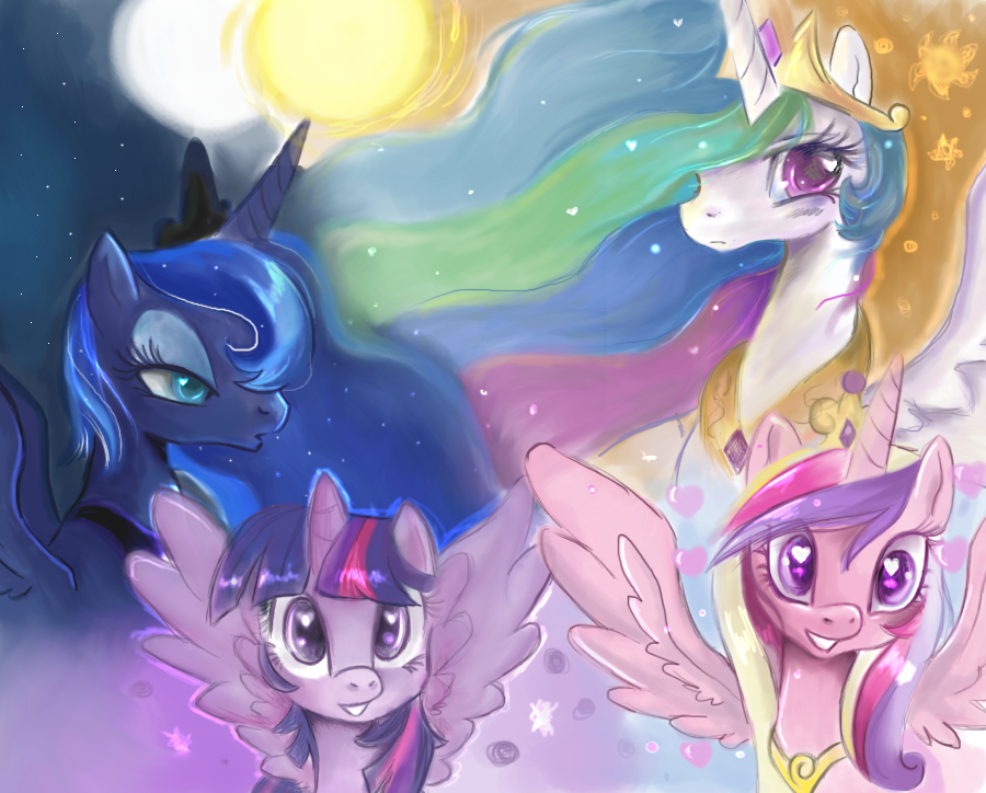 The princesses by schnuffitrunks