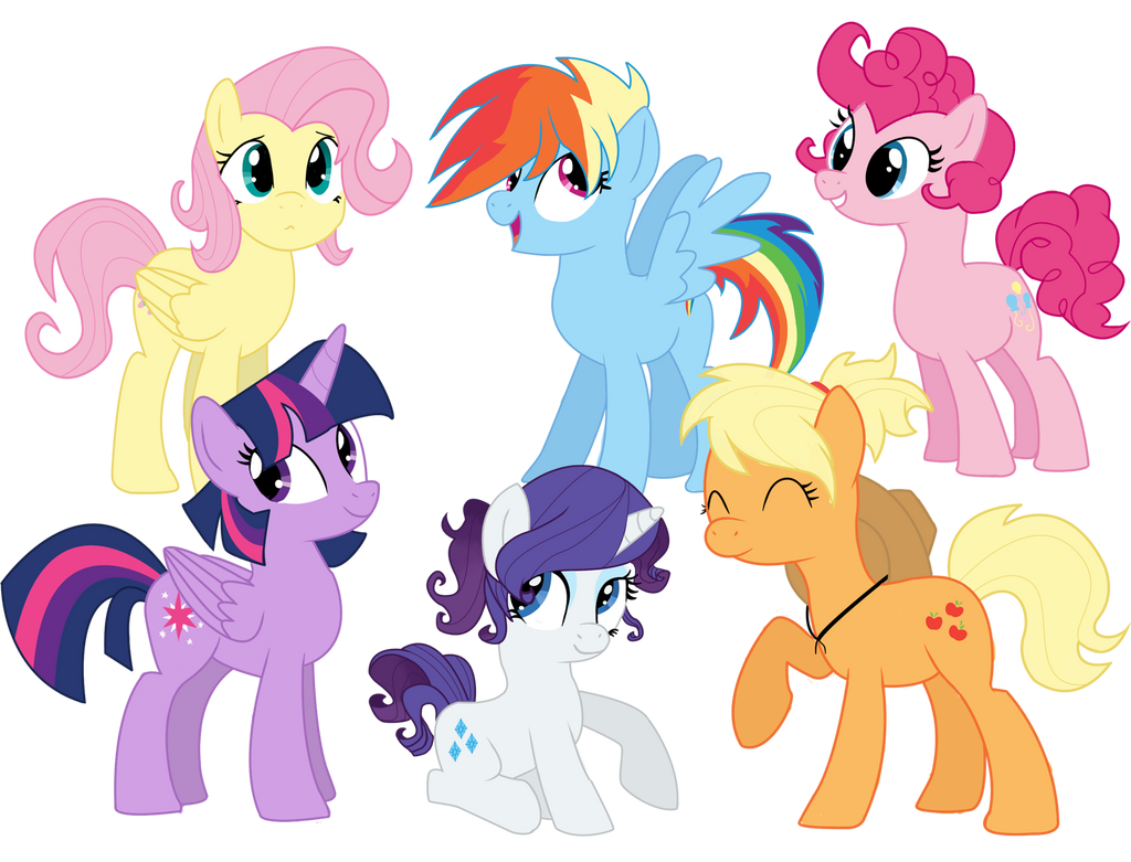 My Little Pony Short Hair Or Mane Are Magic By