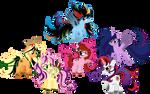 Twisted Rainbow Ponehs