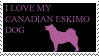 I Love my canadian eskimo dog by cakeycake100