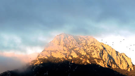 French Mordor_Mt Coudon Var_1