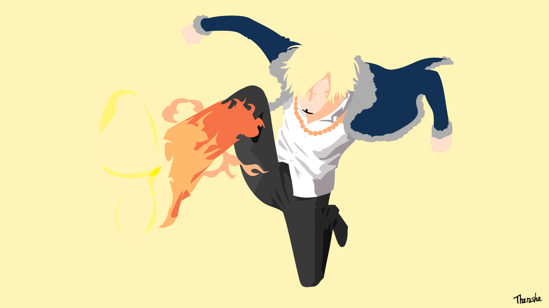 Vinsmoke Sanji Diable jambe minimalist by tharu97 on ...