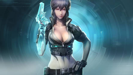 Ghost in the shell online kusanagi motoko