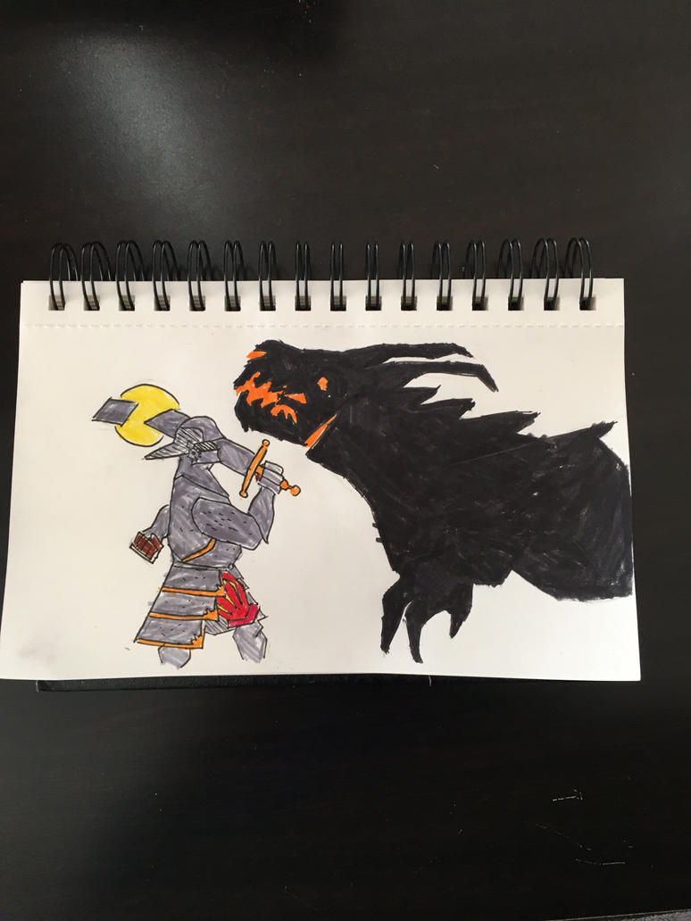 Knight slaying a dragon- NarwhalZ720  by NarwhalZ7200