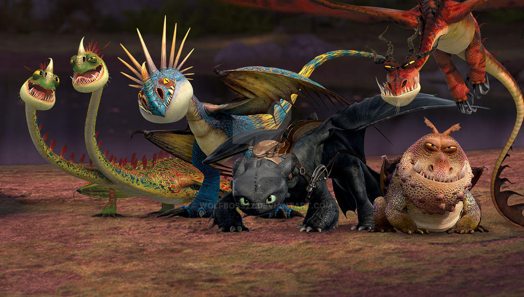 How To Train Your Dragon Wallpaper By Wolfboss22