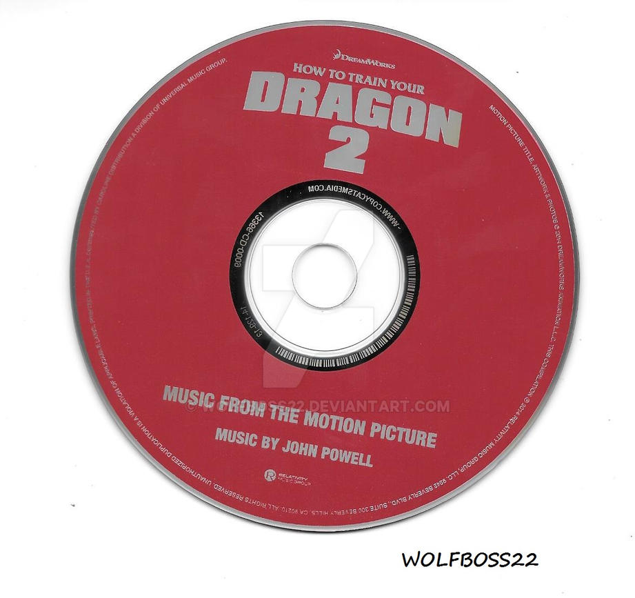 How to train your dragon 2 soundtrack cd by wolfboss22 on deviantart how to train your dragon 2 soundtrack cd by wolfboss22 ccuart Image collections