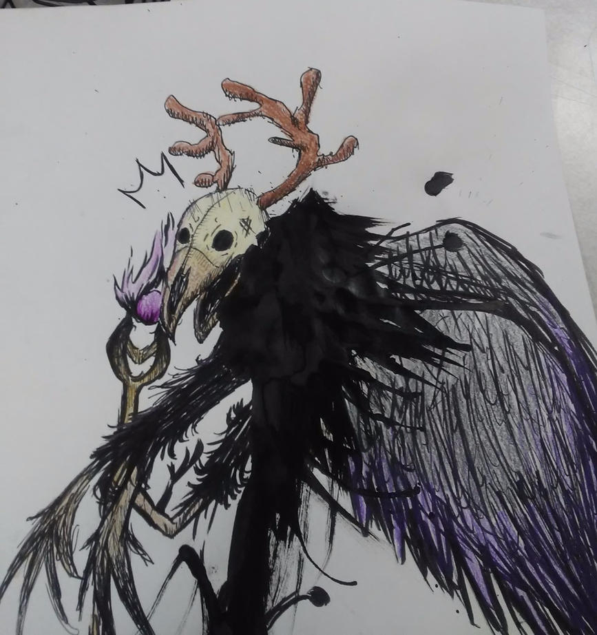Ink Blob Monster c: by Andyhascolorfulhair