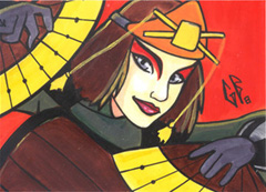 SketchCard: Avatar SUKI by Axigan