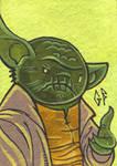 SketchCard: StarWars YODA