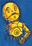 SketchCard: StarWars C3PO
