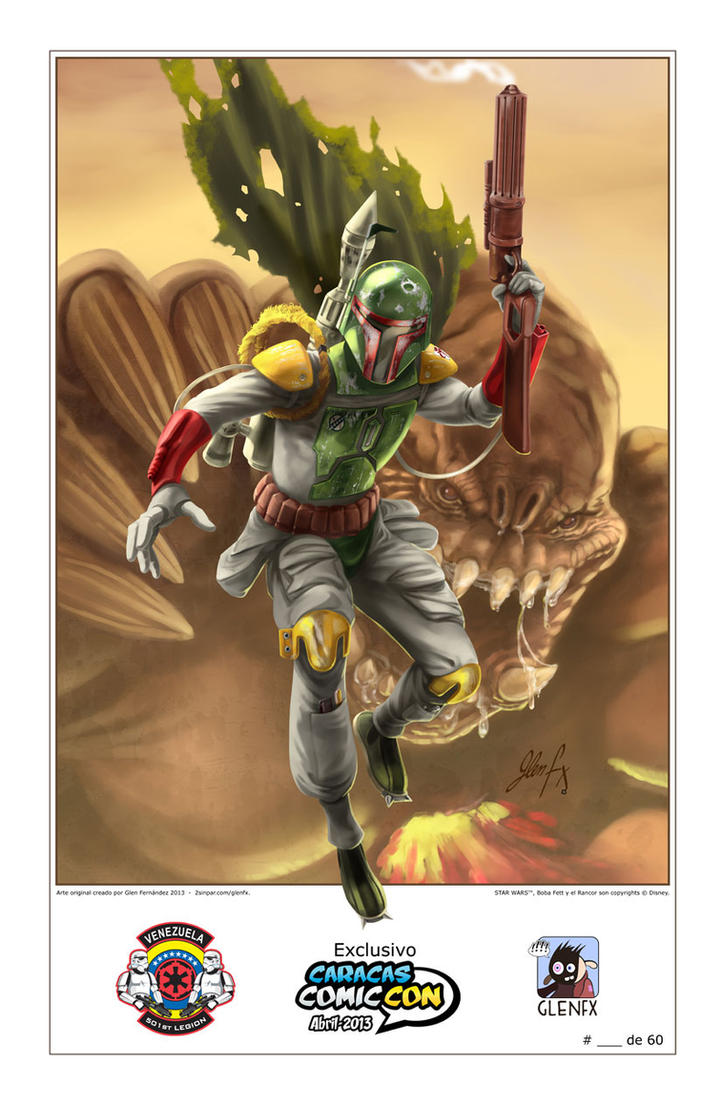 Boba Fett Caracas Comic Con 2013 by Axigan