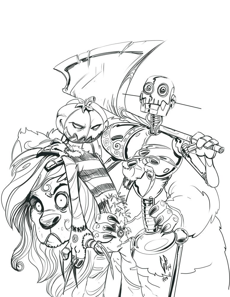 Daily sketch - OZ by Axigan