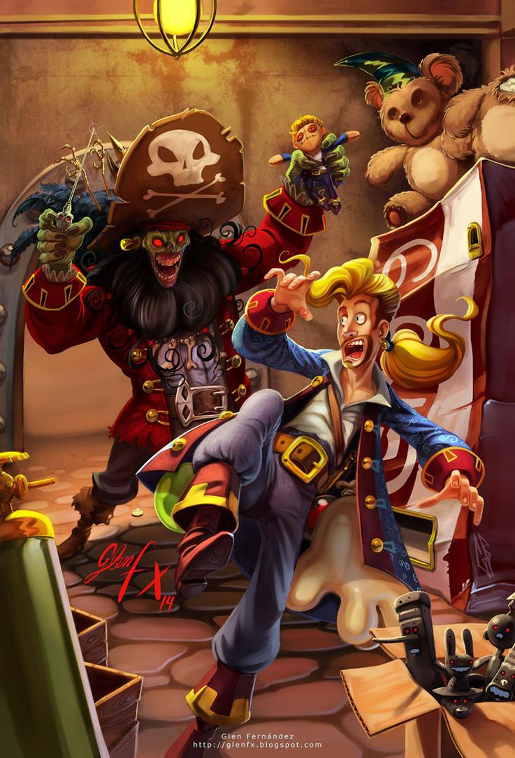 Monkey Island 2 Fanart by Axigan