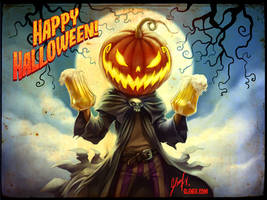 Happy Halloween (2017) by Axigan