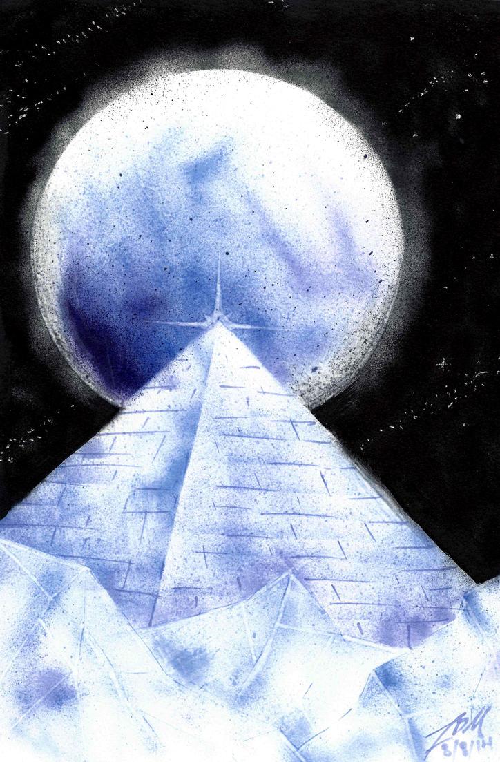 Ice Pyramid by xAuraSolarisx