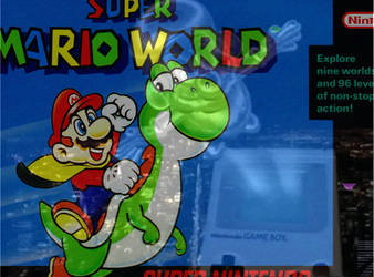 Super Mario World SNES meets Gameboy by Mechayoshi