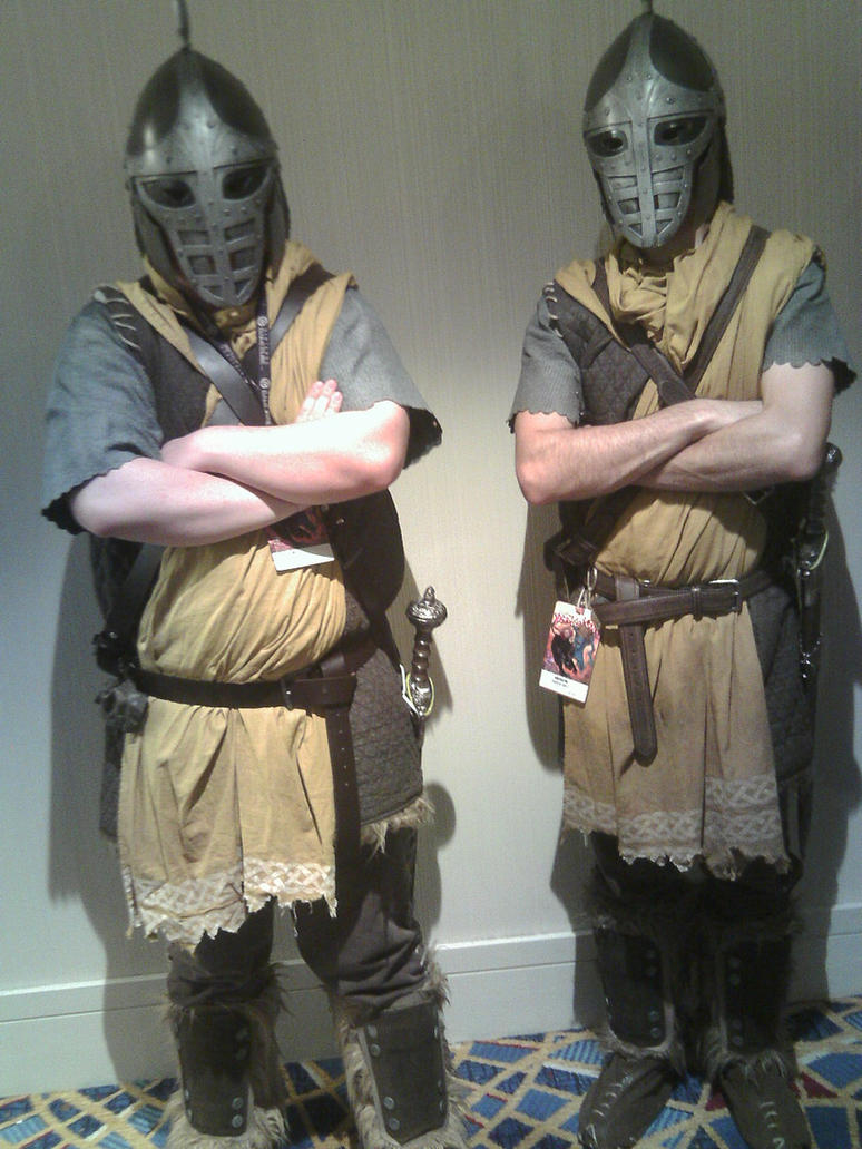 Skyrim Guards - Dragon*Con 2012 by CptTroyHandsome on ...