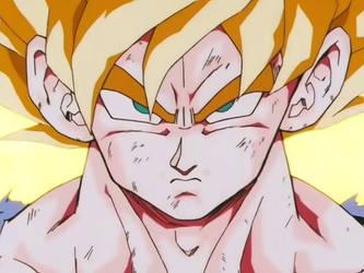 ME GokutoVegeta56 As Super Saiyan
