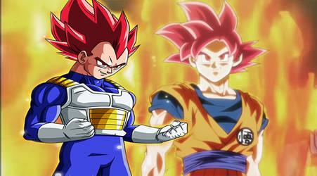 Me GokutoVegeta56 (Goku) And Vegetassj03 (Vegeta)