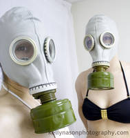 Gas Masks by ChemicalYouth