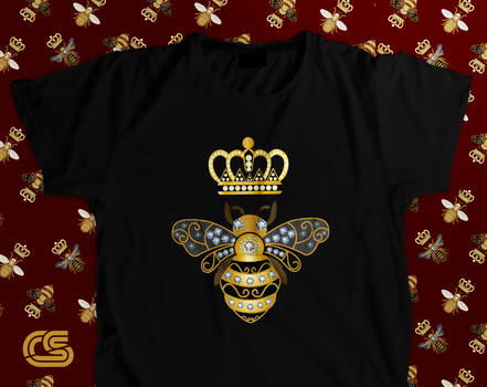 Queen Bee Shirt - Vintage Gucci Shirt