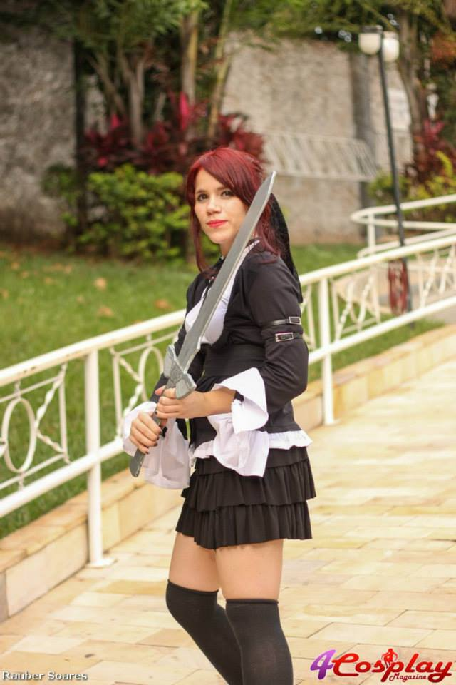 Erza (gothic lolita) cosplay by AnandaMS