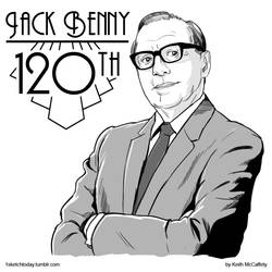 Jack Benny - 120th birthday by Thinkbolt