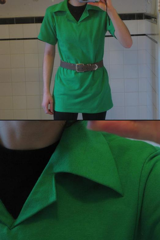 OoT Link\'s Tunic by xHylianKnightx on DeviantArt