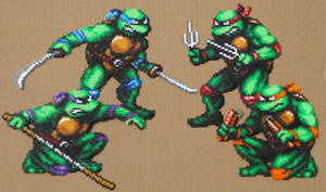 TMNT - Bead Crafts