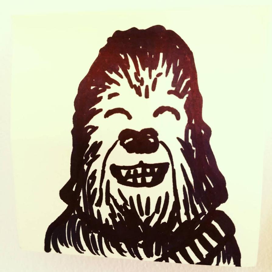 Smiling Chewie by Leugi