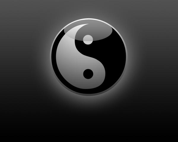Ying Yang Wallpaper by Leugi