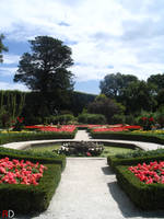 French Garden by RedishDragon