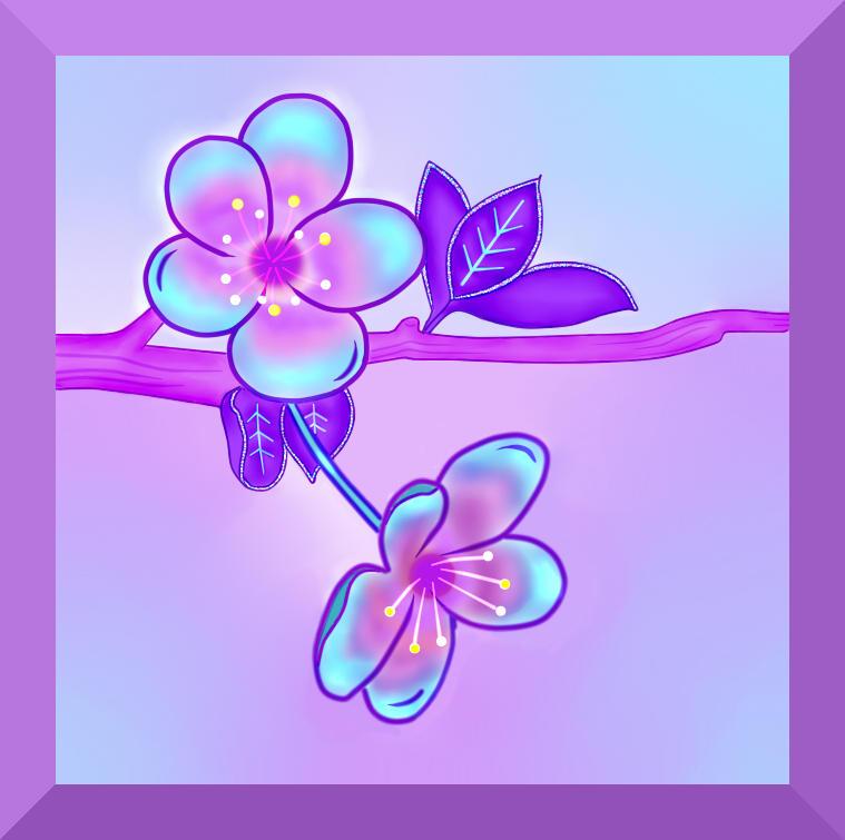 Iridescent Sakura - Cherry Blossom