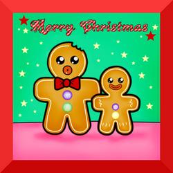 Gingerbread Men - Merry Christmas!
