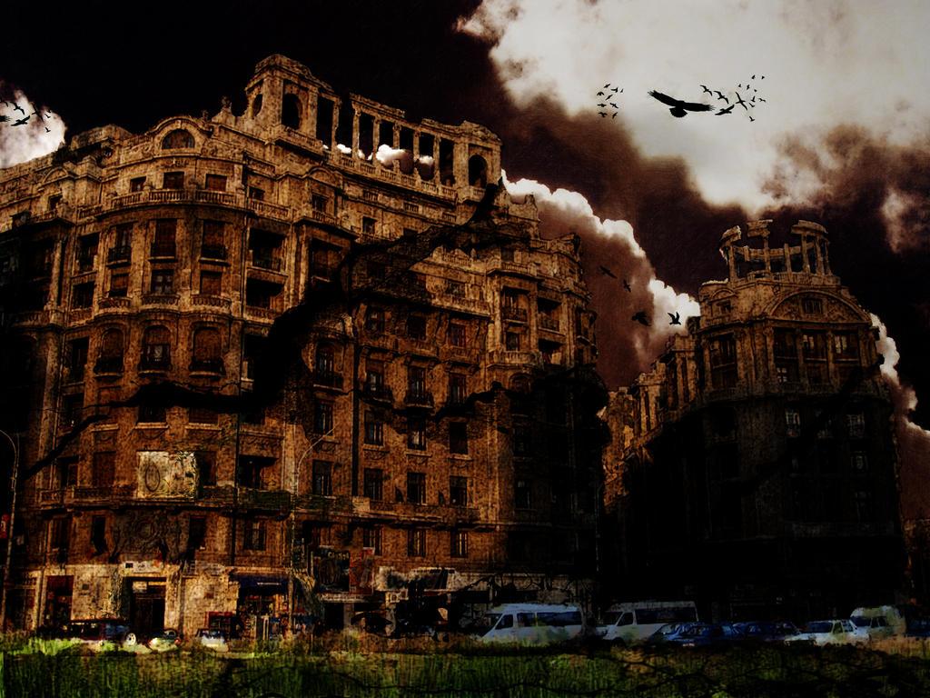 Bucharest by artivoid