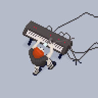 Piano by hivernoir