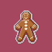 Gingerbread Man by hivernoir