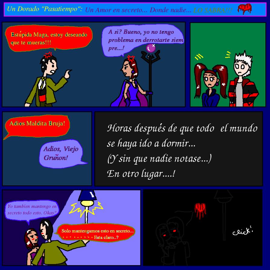 Comic: Un Dorado pasatiempo, un amor en secreto by Fraterna25