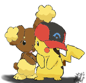 Pikachu and Buneary by FullMetalBabe1 on DeviantArt