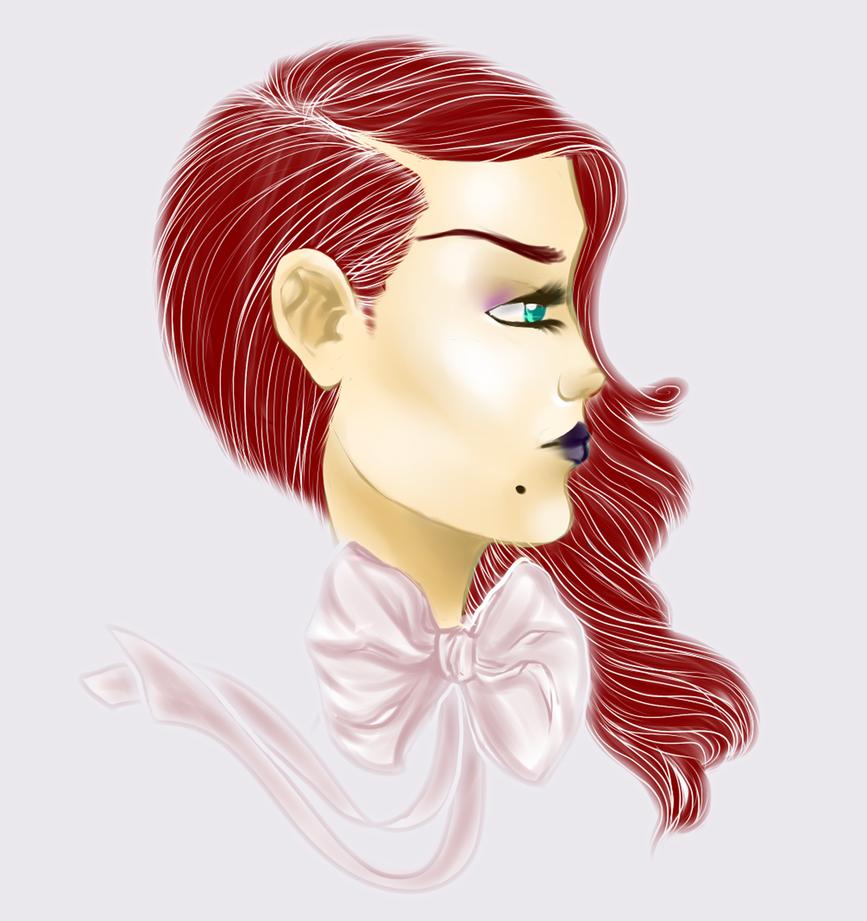 mari red hair dye by spartical-7