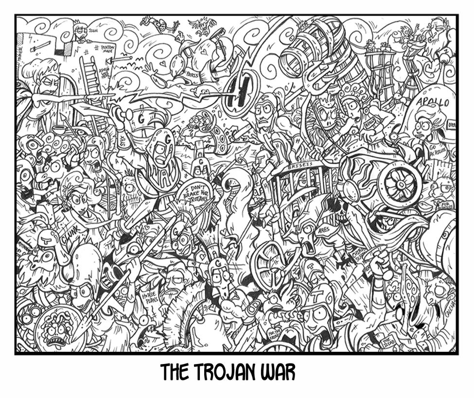 trojan war worksheet photos beatlesblogcarnival trojan war by zacharyparker on