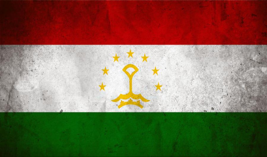Tajikistan flag by Fallof