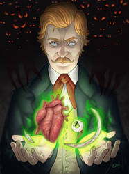Wayland Carlyle and the Relics of Dracula by edmcd