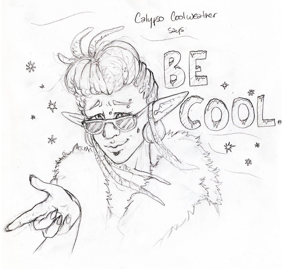 Calypso Be Cool by edmcd