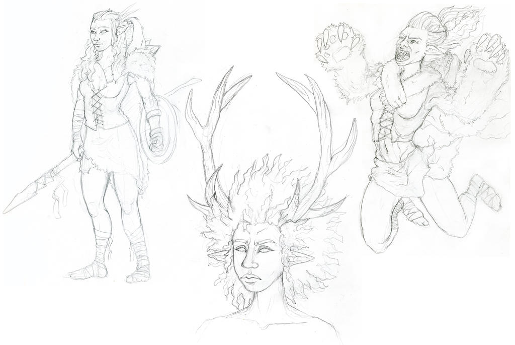 5e Sketches by edmcd